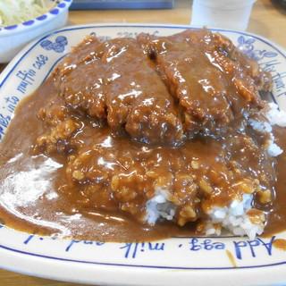 きっちん モト - 料理写真:カツカレー¥760