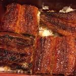 かんたろう - 関西風の鰻がこんなに美味しいとは、かんたろうだから美味しいということかな。