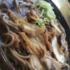 いろは支店 - 料理写真:肉そば(冷たい)