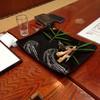 一二三荘 - 料理写真:鮎の塩焼き食べきった後。