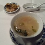 重慶飯店 - スープ