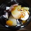 シャトレーゼ - 料理写真:白桃あんみつ