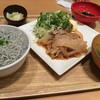 和食飛賀屋 - 料理写真:岩中豚バラの生姜焼きと釜揚げしらす丼
