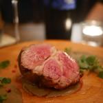 イルトラム - 料理写真:オーストラリア産、仔羊肩肉のロースト レンズ豆のピュレ クミン風味