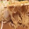 長浜ラーメン - 料理写真:意外に麺量多い。
