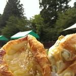 昇匠 SHOW BAKERY - 鶯豆パン&焼き栗モンブラン☆