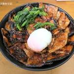 豚大学 - 豚丼(大)+半熟卵