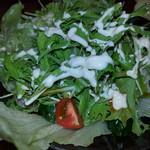 鳥いってつ - 水菜サラダ