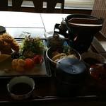 花膳 - 牡蠣フライ御膳