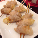 串鳥のワイン酒場 TANTO - 料理写真:新生姜豚巻!!LOVE♪