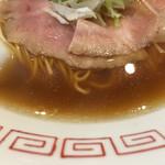 54819163 - 大山鶏の無化調スープ