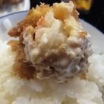 54819545 - 「海老フライオンザライス」美味いなあ。