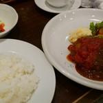 アミーチ - イタリアンハンバーグ(790円)