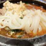 和牛カルビ屋 朱苑 - 麺