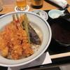 銀座 天一 - 料理写真:天丼「松」一式