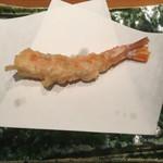 天ぷら 天佑 - 料理写真:海老