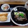 和 - 料理写真:「うどん定食(肉ぶっかけ)」600円