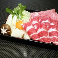 最高級【かごしま黒豚&山形県産厳選黒毛和牛】コース