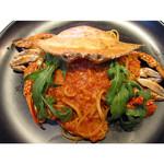 フレイムス - ワタリガニのトマトクリームパスタ