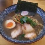 オサカナトンチャン - 魚介とんこつ 濃口(並):830円