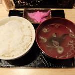 悟空 - ご飯とスープ(トリプルセット)