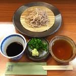 蕎麦工房 膳 - もりそば(細挽き)