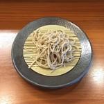 蕎麦工房 膳 - もりそば(粗挽き)