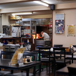 レストラン サム - 厨房からは美味しそうな音が♪