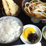 大国 - 料理写真:つけ天定食