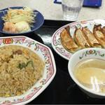 餃子の王将 - 焼飯ランチ