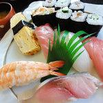 たけ寿司 - 上にぎりランチ1000円