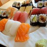 たけ寿司 - 上にぎりランチ(さび抜き)1000円