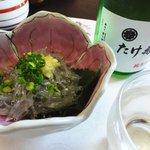たけ寿司 - 富士錦(たけ寿司ラベル)+お通し1500円