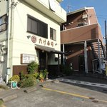 たけ寿司 - 小鹿商店街端。ひっこんだ所にあるが見つけやすい店舗。
