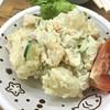 割烹 こすぎ - 料理写真:連休の最終日は近所で軽く1人飲み(^_^) 定番のポテトサラダ。