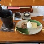 ちゃーちゃ - アイスコーヒー&シフォンケーキ