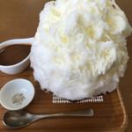 54880447 - キャラメルミルクかき氷は860円
