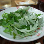 なかま食堂 - ヤギ汁定食(のヨモギ)