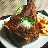 【~16:00/20:00~予約のお客様限定】米国産アンガス牛トマホークステーキ 1.2kg超