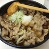 まる久 - 料理写真:肉うどん