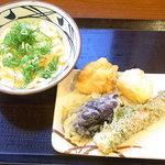 丸亀製麺 - 料理写真:釜玉並¥350