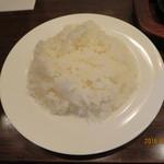 カタヤマ - ライス大盛り