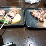 焼鳥とワイン MOJAⅢ世 - 料理写真:ネギマとせせり
