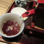 大古久 - 自然体の蕎麦湯