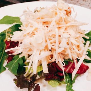 アニオン - 料理写真:『セラリーラヴ・ズワイ、ロックフォールチーズサラダ』様
