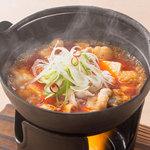 やきとりセンター - やきとり屋のピリ辛炊き豆腐