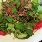 ニャーヴェトナム・プルミエ - 牛肉とクレソン、ミントのサラダ