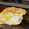 つた屋本舗 - 料理写真:とんぺい焼き 調理中