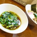 らぁ麺 川たか - つけ麺750円