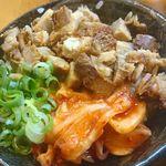 54931815 - ミニ豚丼(360円税込)